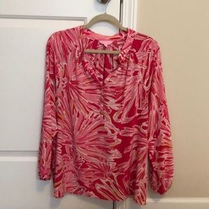 Lilly print tunic